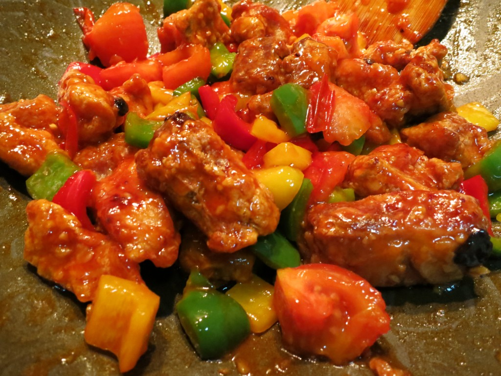 sweet and sour pork Try this quick and easy recipe for homemade sweet and sour pork.