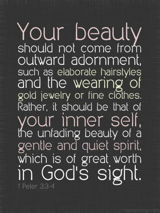 Esv Study Bible Day 2 The Truth About Inner Beauty Phyquirks
